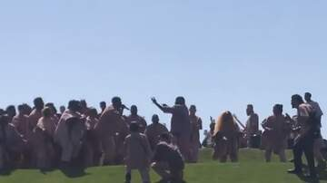 Harms - Aerial Photos of Kanye's Coachella Sunday Service are Pretty Nuts