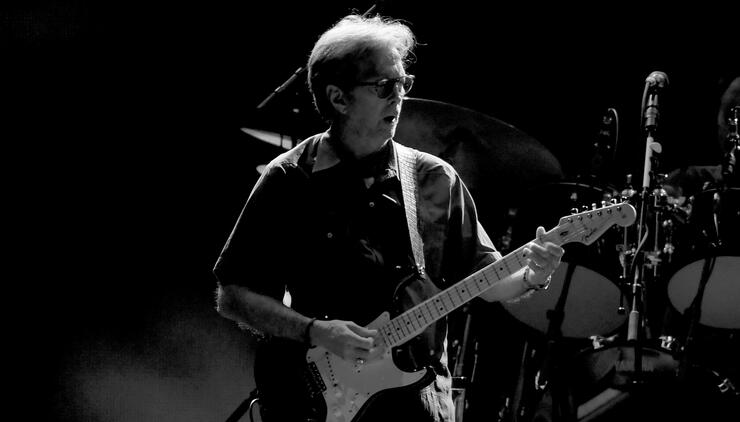 Eric Clapton Performs At The Forum