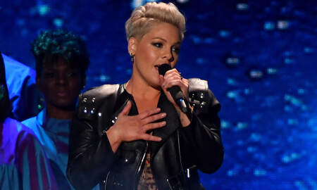 Entertainment News - Pink Delivers 'Walk Me Home' TV Premiere, Unveils New Song With Khalid