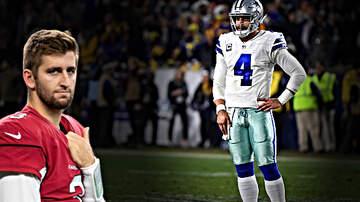 FOX Sports Radio - The Dallas Cowboys Should Trade Dak Prescott For Josh Rosen