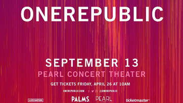 None - OneRepublic at The Pearl at Palms Casino Resort