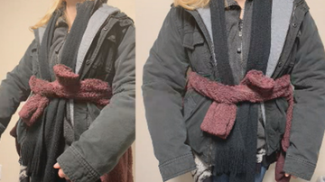 Qui West - Woman Avoids $85 Baggage Fee By Wearing 9 Pounds Of Clothing On Plane!