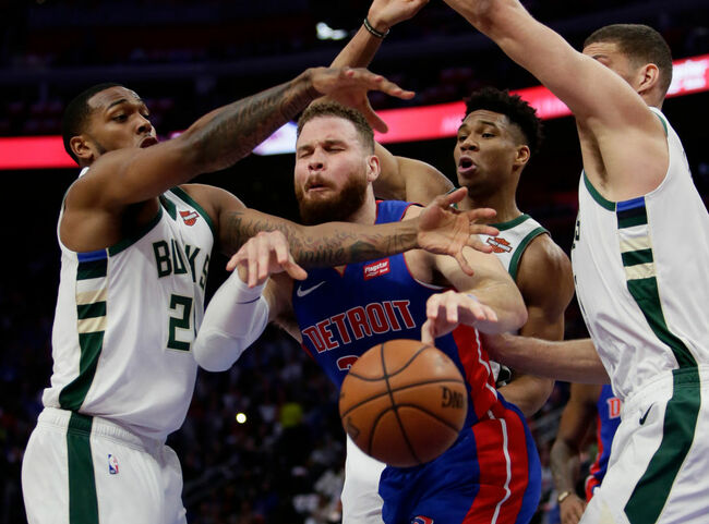 Milwaukee Bucks v Detroit Pistons - Game Four