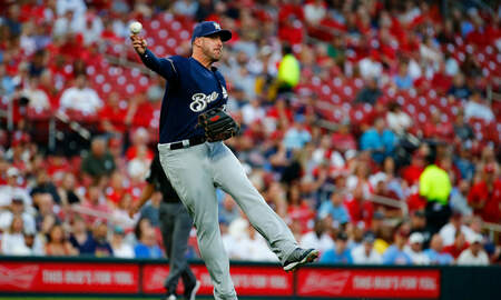 Brewers - Cardinals down Brewers 13-5 on Monday night