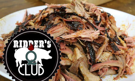 Ridder, Scott and Shannen - Ridder's Q Club: East Carolina Barbecue Sauce for Pulled Pork