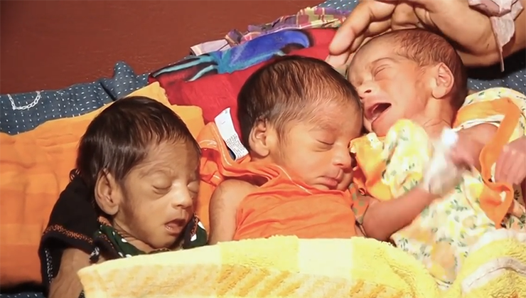 Woman Gives Birth To Baby Boy, 27 Days Later She Has Twins