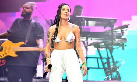 Trending - Halsey Shares Photo Of Back, Finger Injuries After Rock Climbing Naked