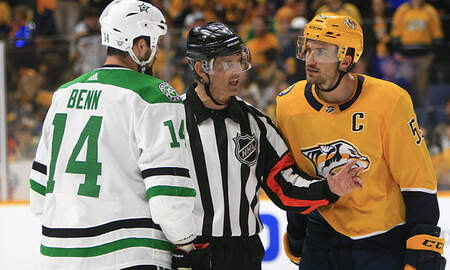Weird News - NHL Player Jokingly Calls Out Referee Who Used Bad Language