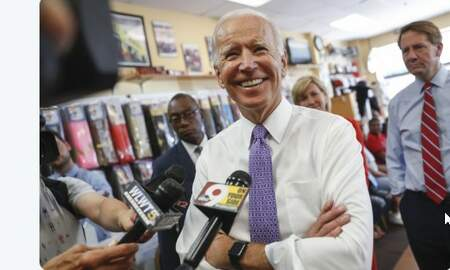 None - BREAKING: Former VP Joe Biden to announce presidential campaign