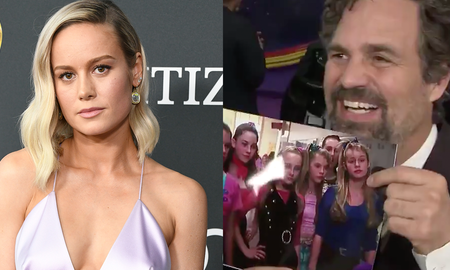 Entertainment News - Mark Ruffalo Learning Brie Larson Was Also In '13 Going On 30' Is So Cute
