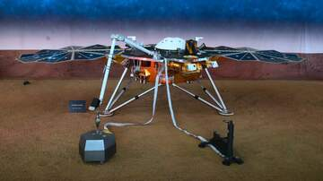 Weird, Odd and Bizarre News - NASA's InSight Lander Detects First Likely 'Marsquake'