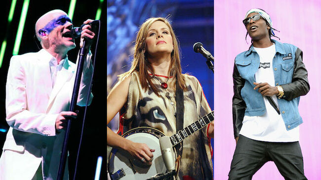 Rare Setlists From R.E.M., ASAP Rocky, Dixie Chicks + More Up For Auction