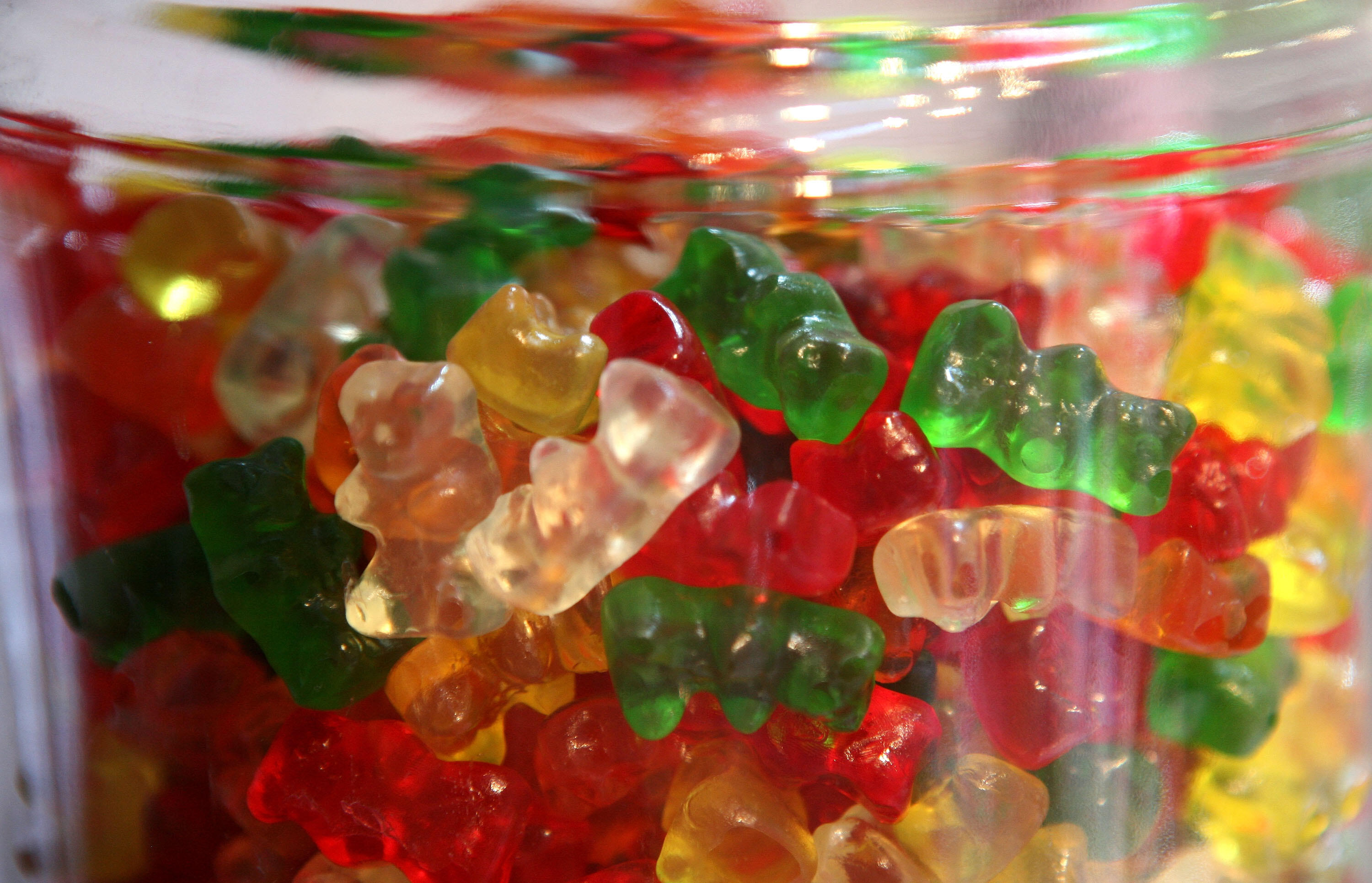 Caffeine Infused Gummy Bears