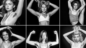 Qui West - Women Who Choose Not To Shave Their Armpits Do Photoshoot!