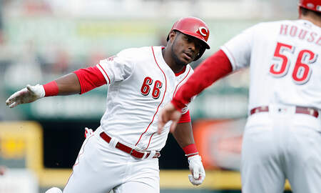 Lance McAlister - Reds hit, walk and.....bunt their way past Braves 7-6