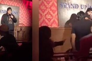 Comedian Smashes Heckler with Bottle