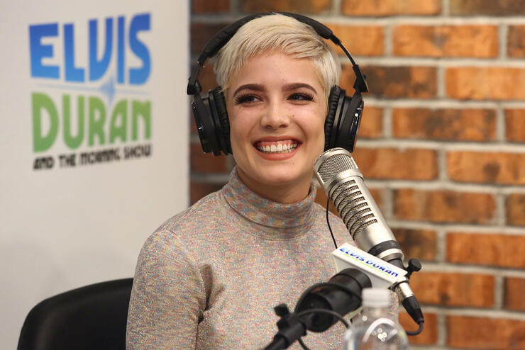 "Halsey Visits ""The Elvis Duran Z100 Morning Show"""