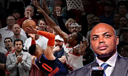 The Herd with Colin Cowherd - Charles Barkley Says Russell Westbrook Should Be Moved to Shooting Guard