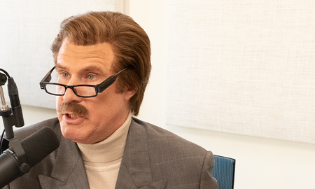 Music News - Ron Burgundy Talks to the San Diego Chicken on His Podcast