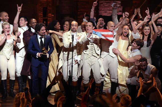 "HAMILTON The 58th GRAMMY Awards - ""Hamilton"" GRAMMY Performance"