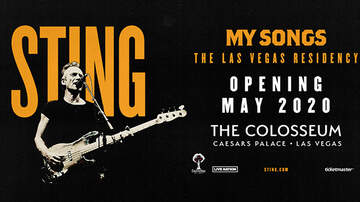 """None - Sting """"My Songs"""" Residency The Colosseum at Caesars Palace"""