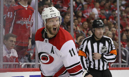 None - Hurricanes Advance to Second Round of Playoffs