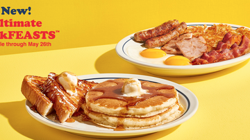 Bobby Bones - Food World: IHOP's New BreakFEAST Platter Is A Lot