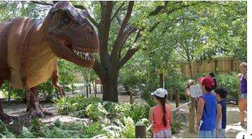 Lori - Dinosaurs Are Back At The Smithsonian's National Zoo This Summer
