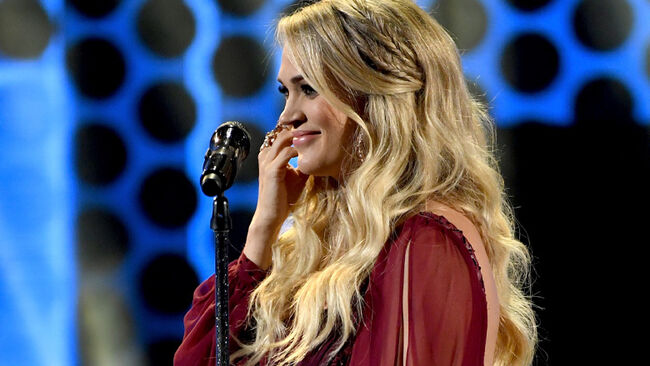 Is Carrie Underwood Learning To Play The Saxophone?