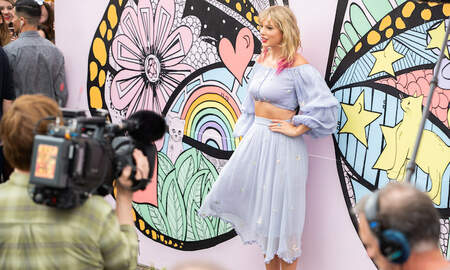 Entertainment News - Taylor Swift Confirms New Song & New Music with Nashville Butterfly Mural