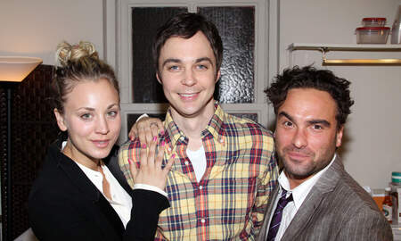 Entertainment News - 'Big Bang Theory' Cast Shares Emotional Photos From Their Last Table Read