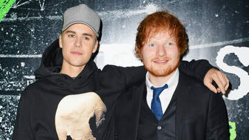 iHeartRadio Music News - Justin Bieber & Ed Sheeran Tease Secret Project