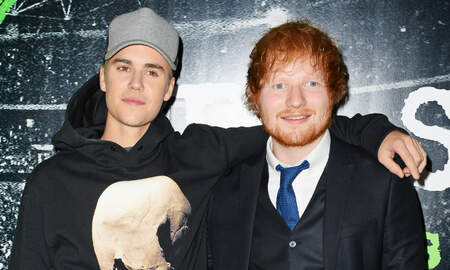 Trending - Justin Bieber & Ed Sheeran Tease Secret Project