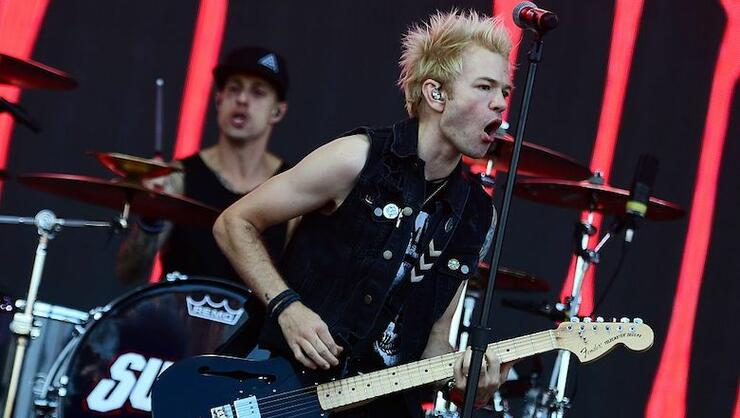 Sum 41's  Deryck Whibley Has Boycotted The News Since Finishing New Album | iHeartRadio