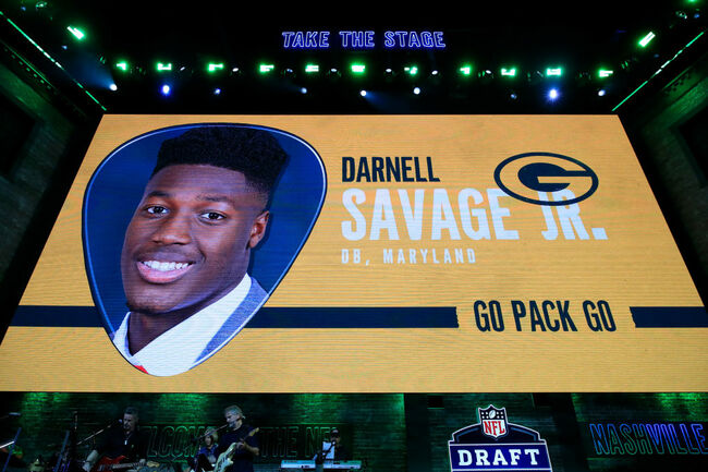 Darnell Savage right back into the mix after being cleared to practice
