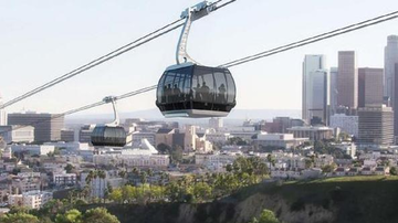 Local News - Metro Board Moves Forward With Gondola to Dodger Stadium