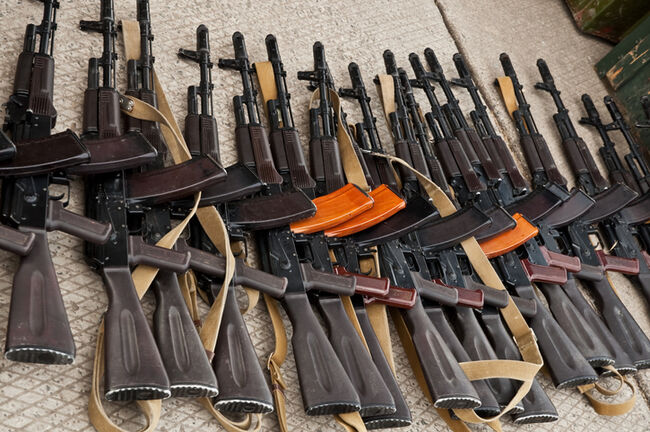 illicit arms trafficking