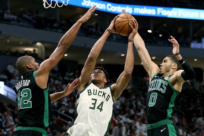 Boston Celtics v Milwaukee Bucks - Game One