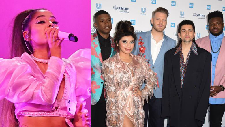 Pentatonix Just SLAYED Ariana Grande's Entire Music Evolution: She Responds