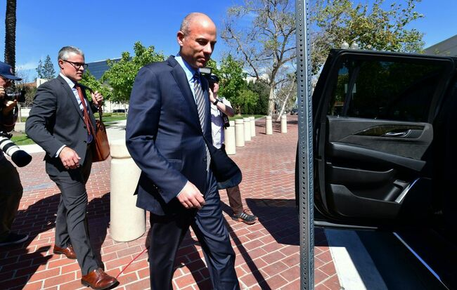 Avenatti Enters Plea Before OC Judge on Client Embezzlement