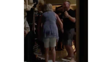 JB -  Mom Gives Priceless Reaction When Son Surprises Her With Visit