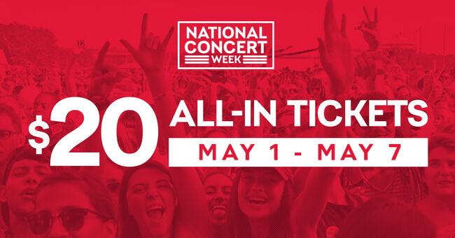 Cheap Tickets Concert >> Celebrate National Concert Week With Cheap Tickets To Great Shows