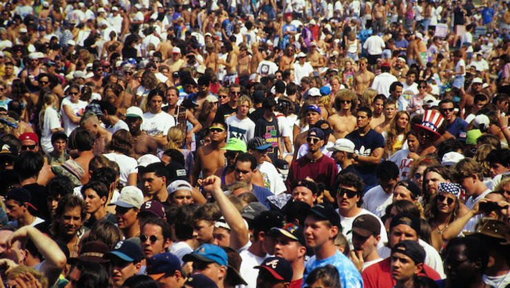 Audience At Woodstock '94