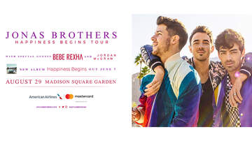 image for Win Tickets To See The Jonas Brothers At The Garden