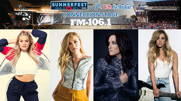 Summerfest U.S. Cellular® Connection Stage with FM106.1 - 7/3: WCIW: Lauren Alaina, Brandy Clark, Nora Collins, Lindsay Ell