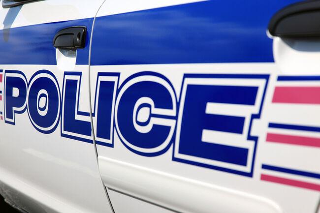 Police Logo and Car Stripe