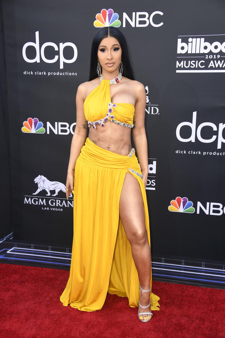 Cardi B Flaunts Her New B Utt Tattoo In Ig Video