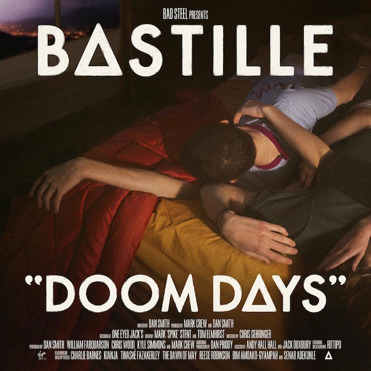 Bastille - 'Doom Days' Album Cover Art
