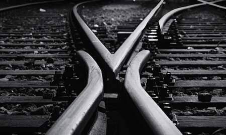 Local News - 13 Rail Cars Jump Train Tracks In Gretna