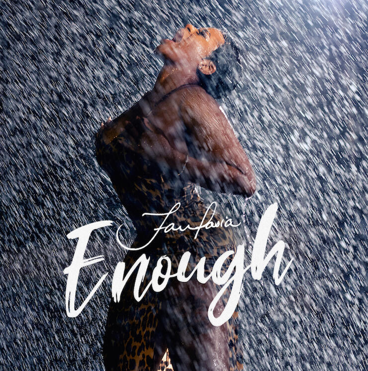 "Fantasia - ""Enough"" Album Cover Art"